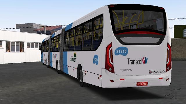 OMSI 2 - Marcopolo Viale BRT Volvo B340M articulado e biarticulado