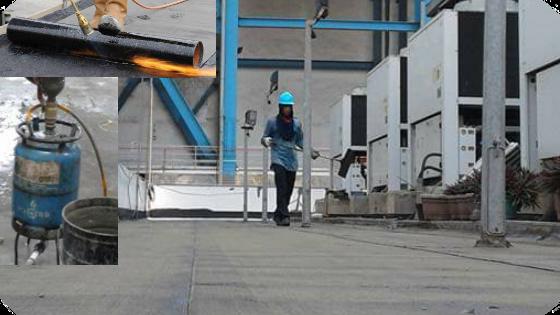 Waterproofing membrane dan injeksi beton bocor