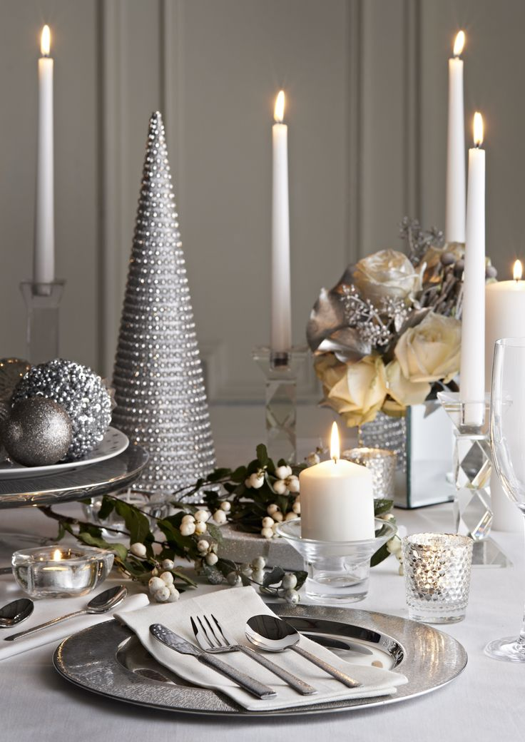 gorgeous table decoration for best new year eve