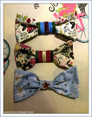 Collar Couture Bow Ties @BionicBasil® The Pet Parade