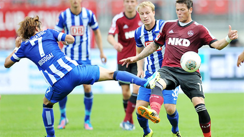 CLB Hertha Berlin đang được đánh giá là có lợi thế hơn