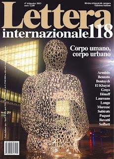copertina Lettera Internazionale 118 Silvana Calabrese