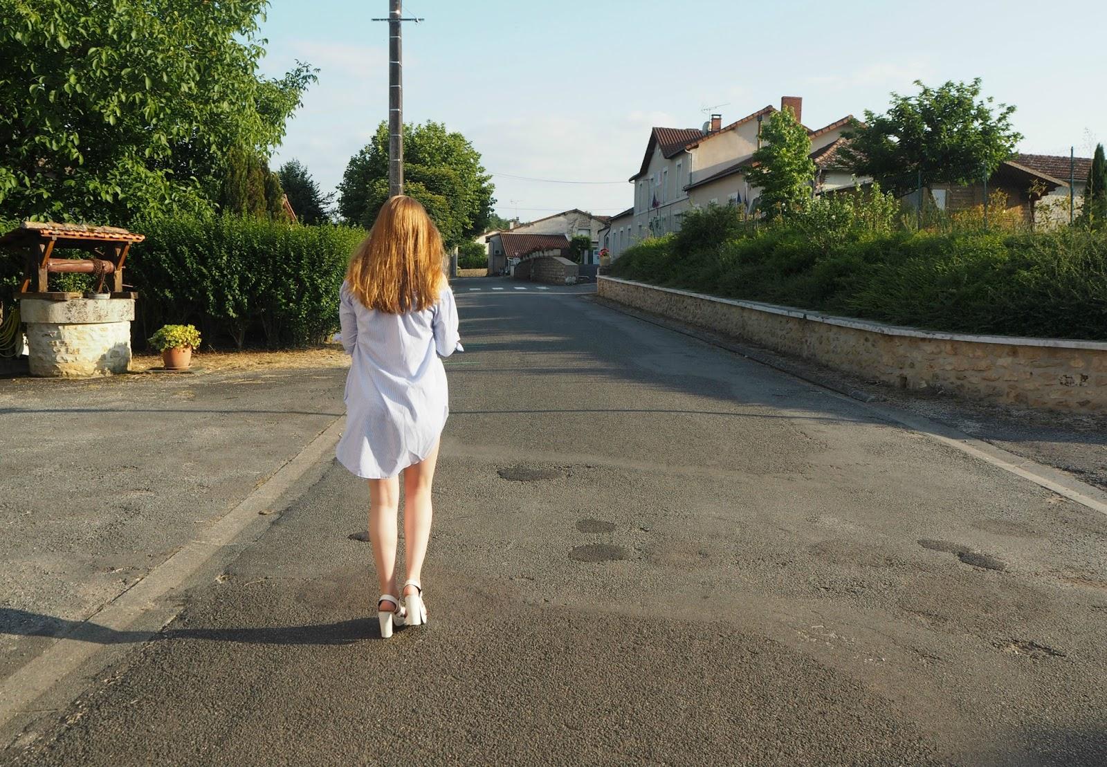 Sarah walking