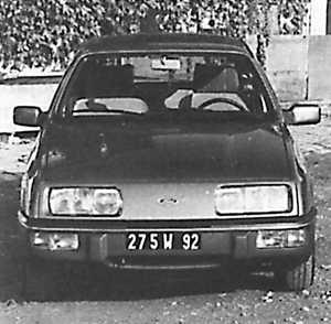 Ford Sierra '83 берлина версии Ghia
