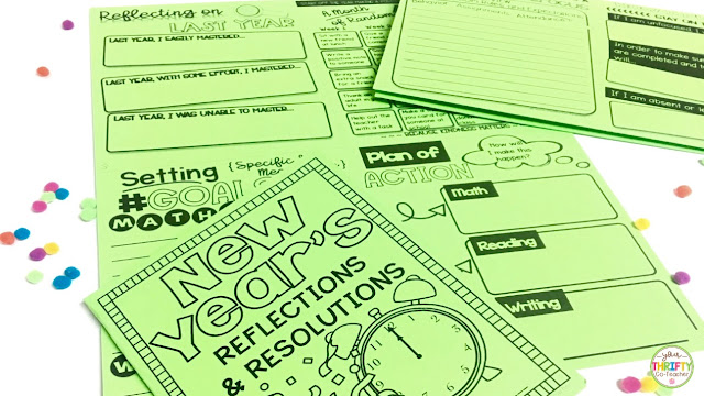 As we get ready to head back into the classroom, here are some fun New Year classroom activities you can do with your upper elementary students.