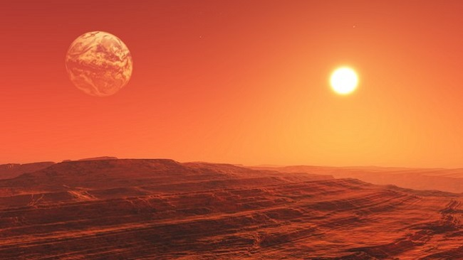 Marte/Reprodução