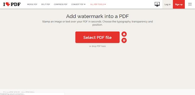 Cara Mudah Menambahkan Watermark di PDF (Skripsi)