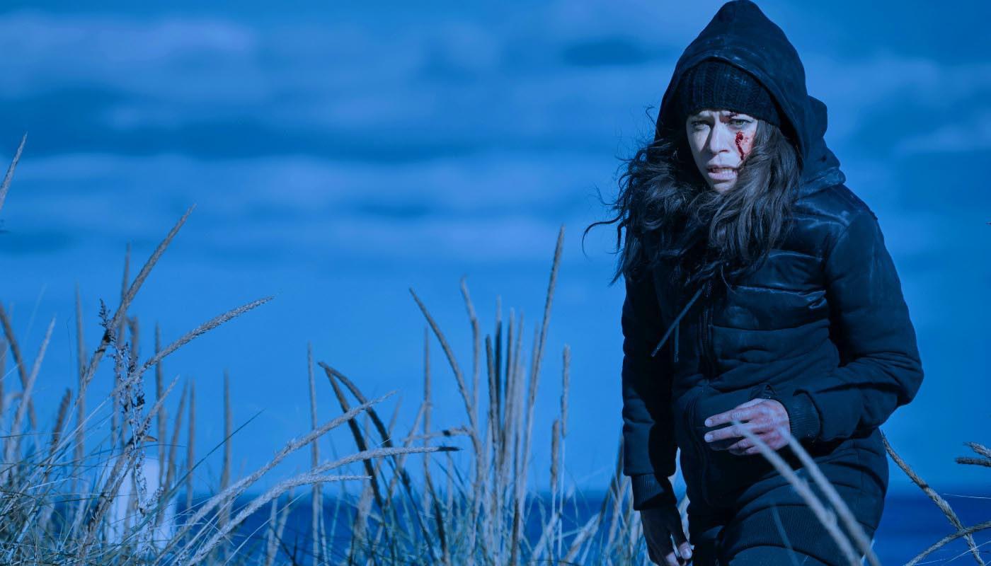 Tatiana Maslany en un fotograma de 'Orphan Black'