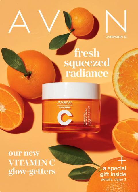 AVON Campaign 13 2021 Brochure Online - Fresh Squeezed Radiance!