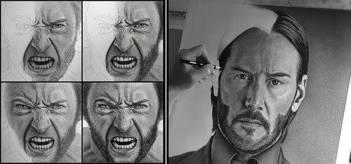 00-Justin-Cohen-Realistic-Portrait-Drawings-WIP-www-designstack-co