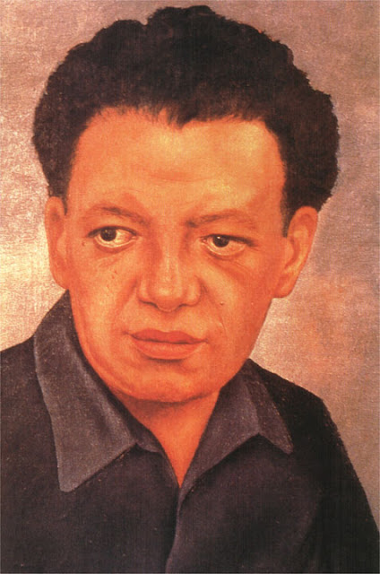 Фрида Кало - Портрет Диего Риверы. 1937
