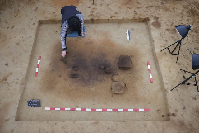 Neolithic burials, Iron Age site found in Germany's North Rhine-Westphalia