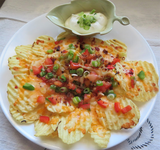 Potato Chip Nachos