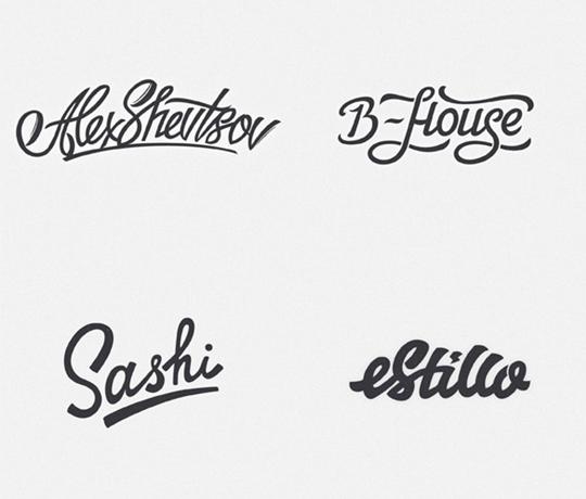 Dise o de letras para logos for Logos con letras