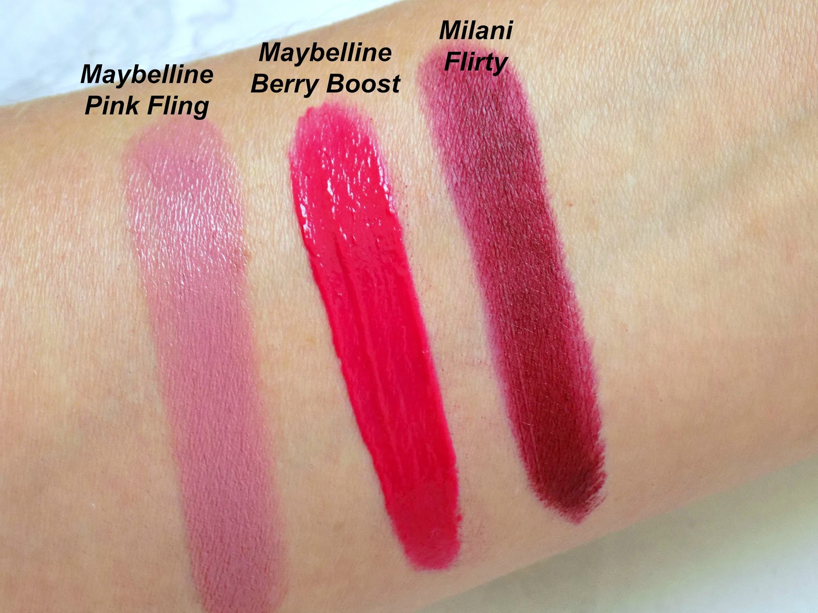 Milani Color Statement Matte Lipstick in Flirty
