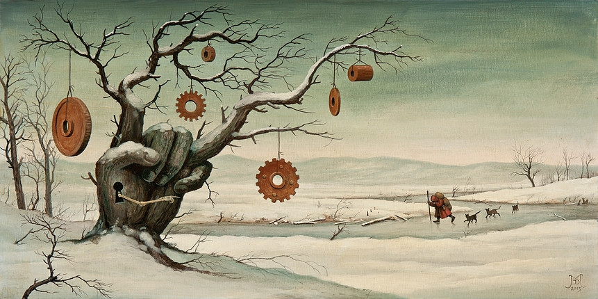 06-Missing-Pieces-Mike-Davis-Surreal-Paintings-that-hide-a-lot-of-Symbolism-www-designstack-co