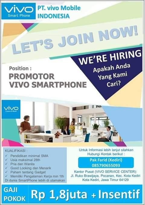 Lowongan Kerja Pt Vivo Mobile Indonesia Arayananews Com
