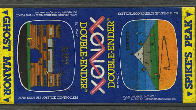 Xonox... o aquellos cartuchos dobles de Atari 2600