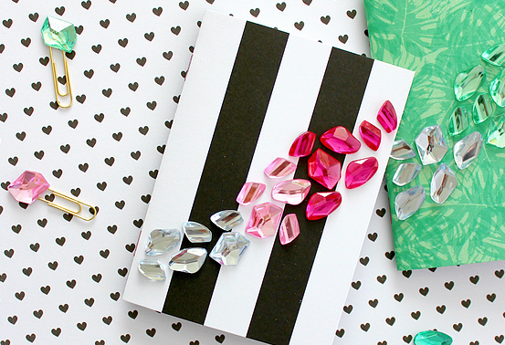 Awesome Back to School Crafts - Glitzy Notebooks, Painted