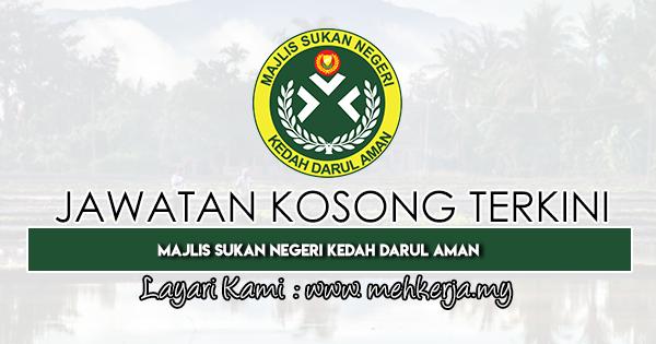 Jawatan Kosong Terkini 2020 di Majlis Sukan Negeri Kedah Darul Aman
