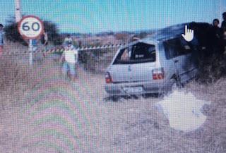 Família se envolve em acidente e mulher morre no interior da Paraíba