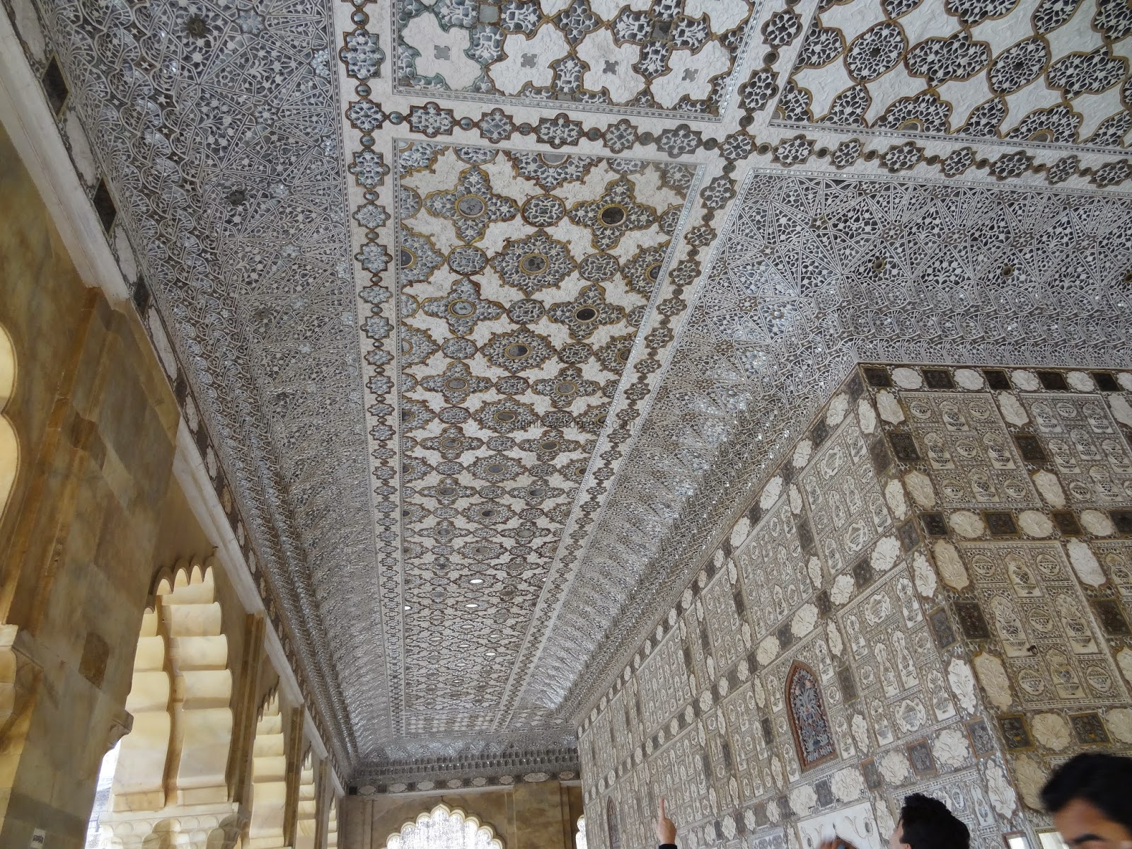 The Mirror Palace - Sheesh Mahal Amber fort - Rajasthan India - Pick, Pack, Go
