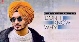 Don't Know Why Lyrics - Nirvair Pannu