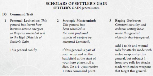 Schollars of Settlers Gain
