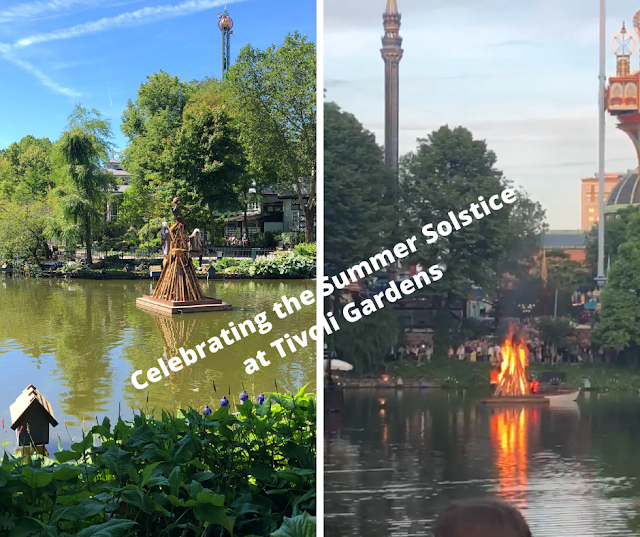 Celebrating the Summer Solstice at Tivoli Gardens in Copenhagen