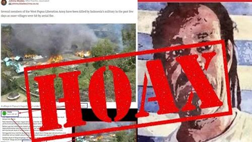 Tepis Berita Hoax Yang Sudutkan TNI-Polri, Kepala Suku Paluga Pastikan Tidak Ada Aksi Pembakaran di Wilayahnya
