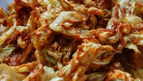 Fried cabbage is thought to trigger cancer growth. Photo: Special