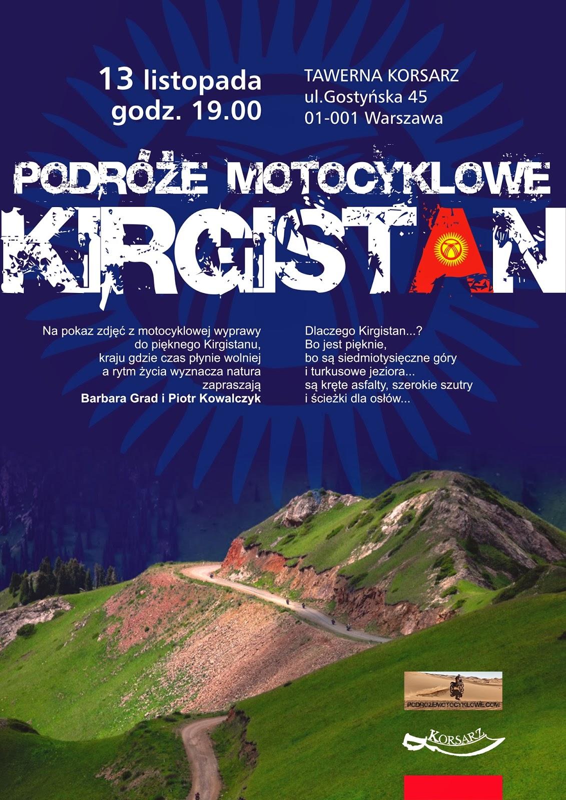 Wyprawy motocyklowe do Kirgistanu