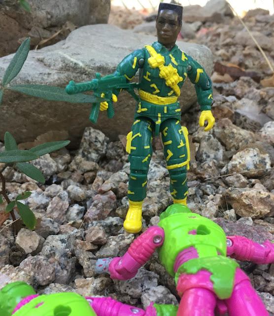 1993, Bulletproof, Battle Corps, DEF, MOC, HEAT Viper, Long Arm, 2002 Headman, Eco Warriors, 1992 Toxo Zombie