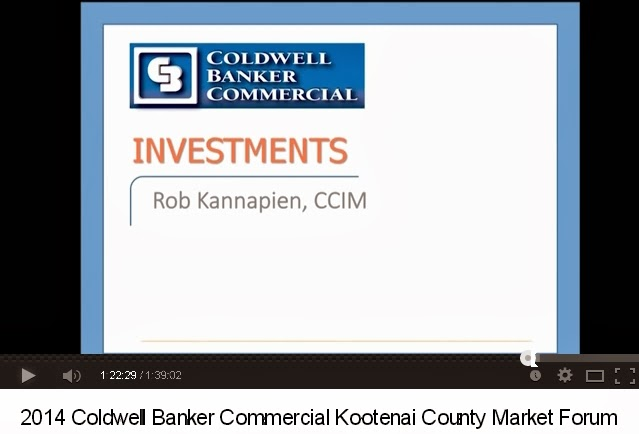 View Rob Kannapiens 2014  Commercial Real Estate Market Forum Speech