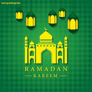 Islamic Lantern Ramadan Kareem hanging lanterns