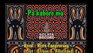 Download Lagu Toraja Pa'kaboro'mu