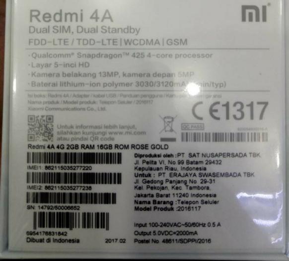 Cek Keaslian Xiaomi