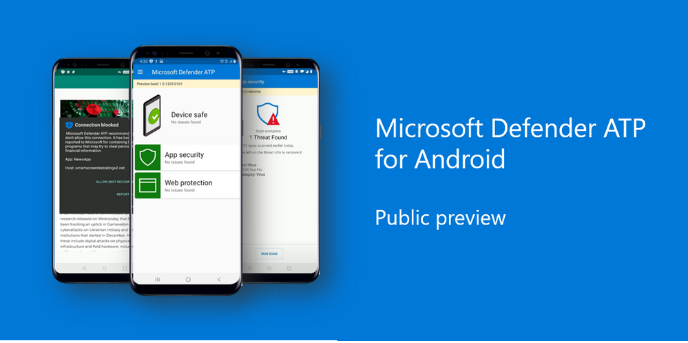 Microsoft Defender ATP disponibile per Android