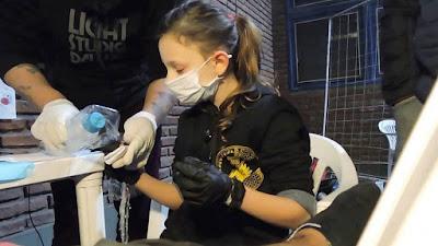 la niña tatuadora mas joven del mundo