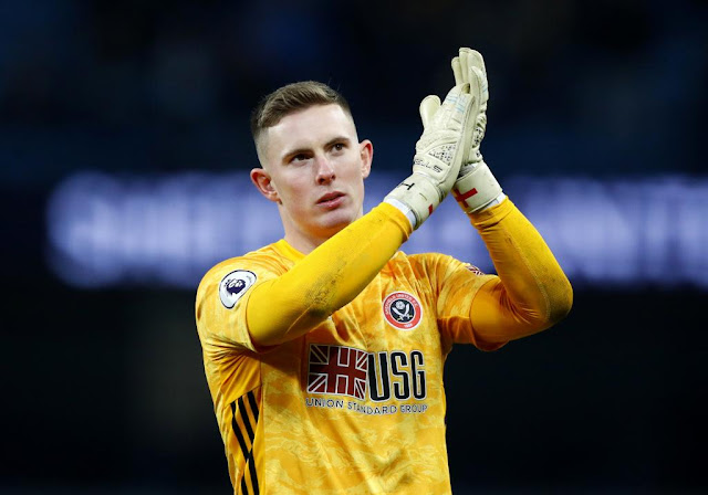 It's goodbye from Dean Henderson.