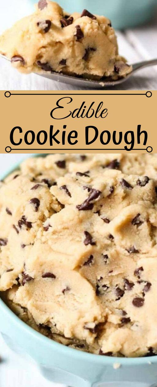 EDIBLE COOKIE DOUGH #desserts #cake #cookies #pie #easy