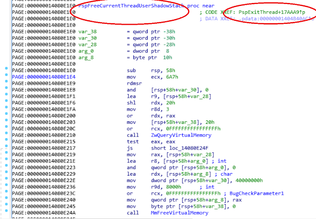 A blog about rootkits research and the Windows kernel