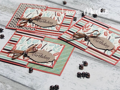 Stampin up Autumnal Birthday cards