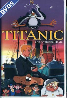 Titanic The Animated Movie 2000 DVD R2 PAL SPANISH