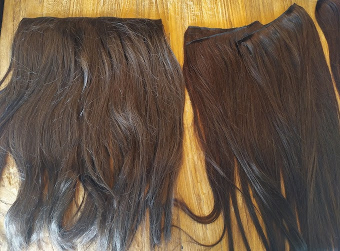Review | Glamour Your Hair Synthetische vs. Human Hair Extensions