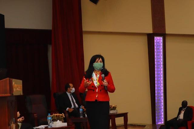 """"""" الشباب والرياضة """" تناقش دور الشباب والمرأة في السلم والامن على مائدة مؤتمر القاهرة القومي الأول لشباب جنوب السودان"""