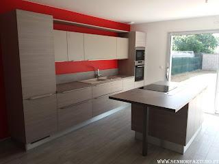 Fornecimento e instalação de cozinhas por medida