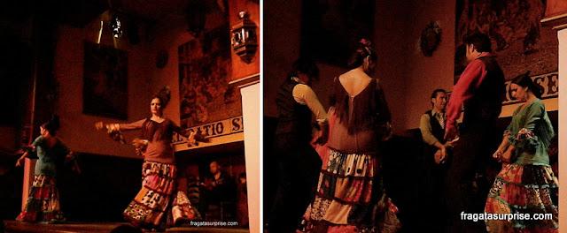 Apresentação de Flamenco em Sevilha
