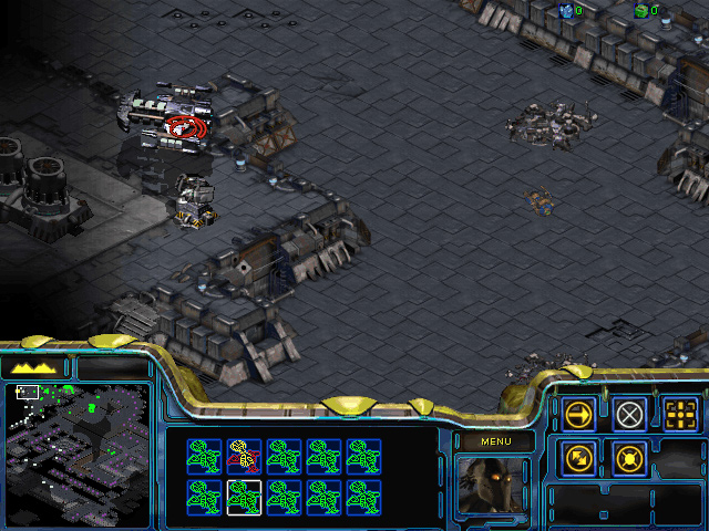 StarCraft: Brood War Mission 5: The Battle for Braxis.