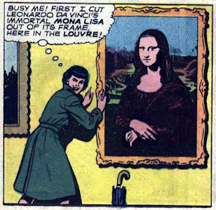 Lois Lane #65, Lois Lane steals the Mona Lisa